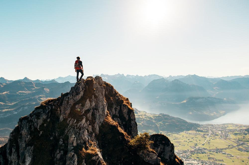 Steht deine Karriereleiter am richtigen Berg?