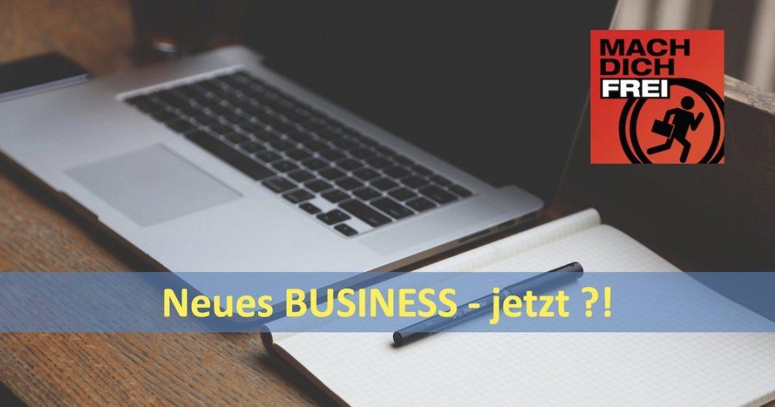 Neues Business jetzt
