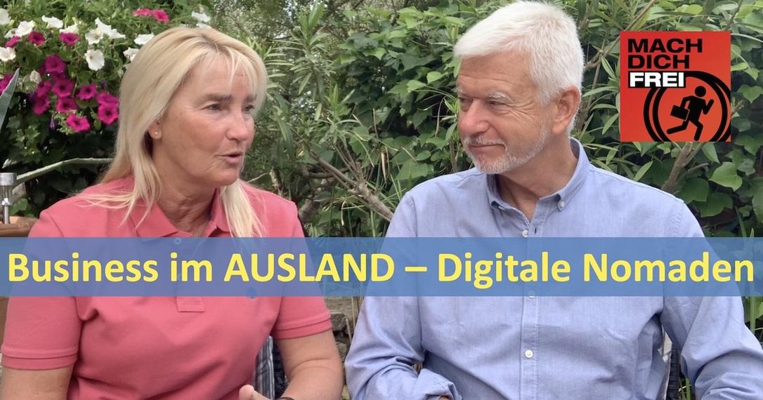 Business im Ausland - Digitale Nomaden
