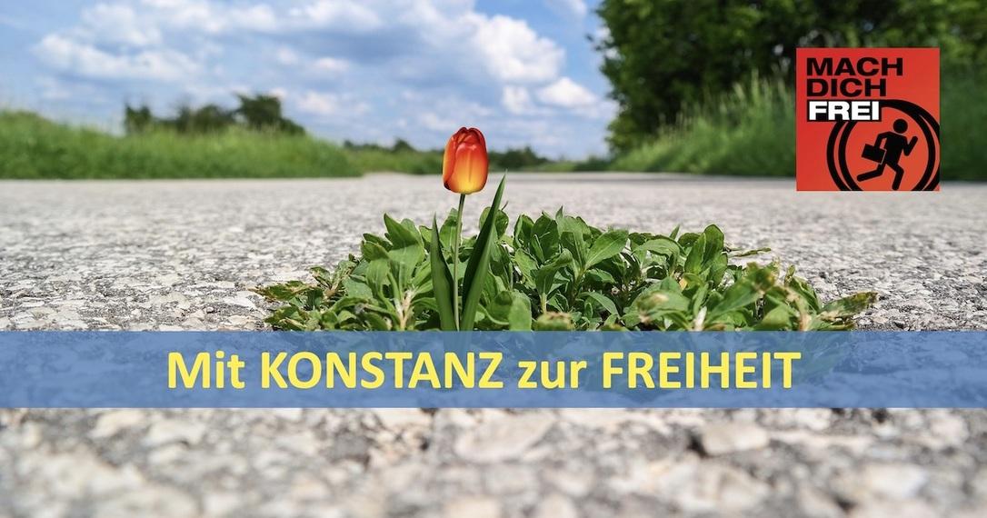 Mit Konstanz zur Freiheit