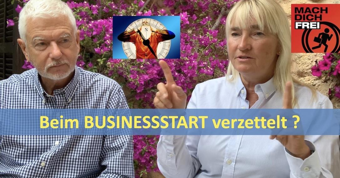 Beim Businessstart verzettelt