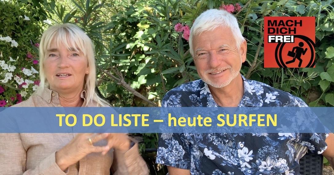 To do Liste - heute Surfen