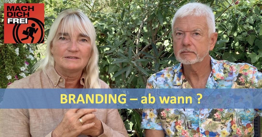 Branding ab wann erforderlich